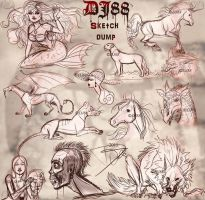 Sketch Dump 6-13-11 by DJ88