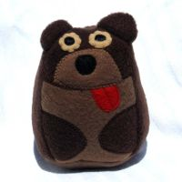 Plush Brown Bear by ZodiacEclipse