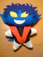 Nightcrawler Plushie by otakufox23