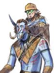 Troll and gnome friends by Kethavel
