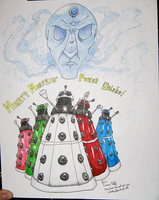 AN Commission: Daleks by Dezfezable