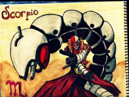 Scorpio Drawing - Fairy tail by GuillermoAntil
