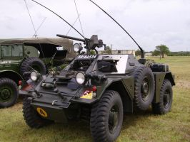 Ferret Scout Car Sideview by DarkWizard83