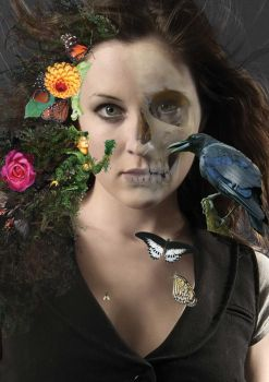 Life and death collage by Neznuhl
