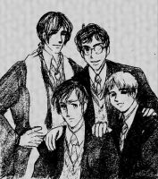 A photo of the Marauders by metamorphism
