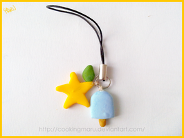 KH Cell Phone Strap by CookingMaru