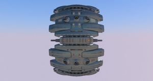 radial fighter6 by Scifiwarships