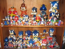 Sonic Figure Collection by sonicrules100