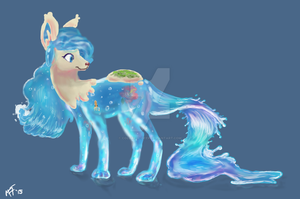 MYO Waterdog [APPROVED] by Colorful-Deer