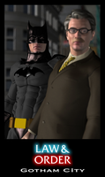 Law and Order: Gotham City by NVent3d
