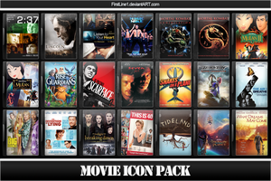 Movie Icon Pack 71 by FirstLine1