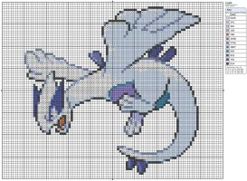 249 - Lugia by Makibird-Stitching