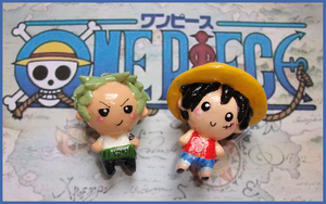 Chibi-Charms: One Piece by MandyPandaa