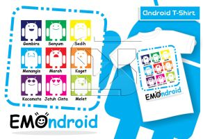 Emondroid (T-Shirt) by indrorobo