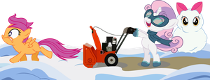 Cutie Mark Crusader:  Winter Wrapper-Uppers!!! by seahawk270