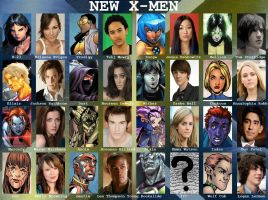New X-Men casting call by Valor1387