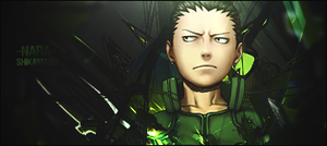Shikamaru Nara by GreenMotion
