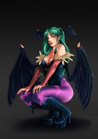 Morrigan by PhelRina