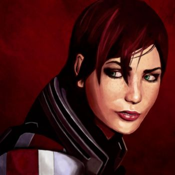 Jane Shepard by taylderp