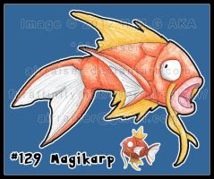Pokemon: Magikarp 2012 by AirRaiser