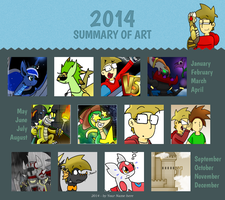 2014 Art Summary by TheGuyNoOneRemembers