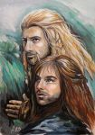 Fili and Kili by AndreevaPolina