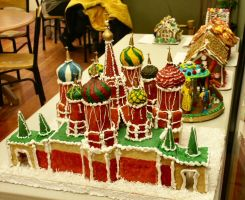 St. Basil's Gingerbread House by peachycat