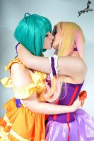 Ranka Lee and Sheryl Nome - Cosplay by Childishx