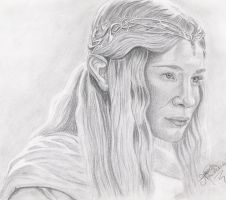 Galadriel by TheElvenpath