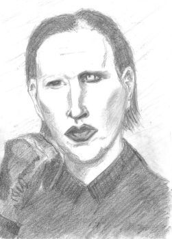 Marilyn Manson by JohnGriffith