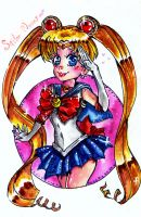 Sailor Moon. by Usagi3DChan