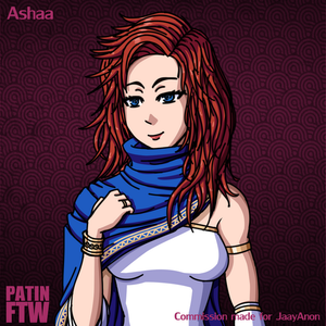 Commission - Ashaa by PatinFTW