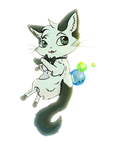 Cat Chibi by VelociyDrawing17