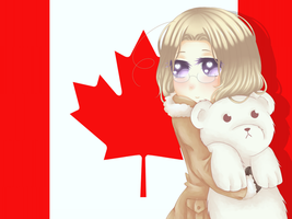 Canada - Matthew Williams - Hetalia by Pinkoneko