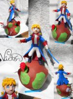Le Petit Prince Planet by VictorCustomizer