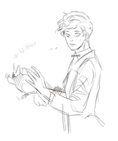 Newt and Niffler by Junatree-ReCo