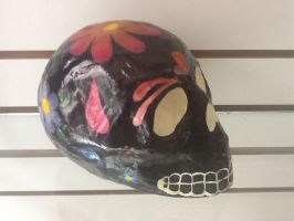 Flowers Skull by Candy27