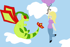 Wifey And Her Flygon by Ay-Immoral