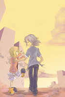 JOSH AND RHYME, TAKING A WALK by KipperSnack