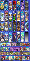 If Miiverse had color compilation by Ukato-drawings