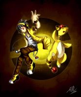 Ampharos is awesome by LazyAmphy