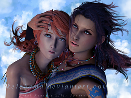 FFXIII : Amasons from Gran Pulse by keichama