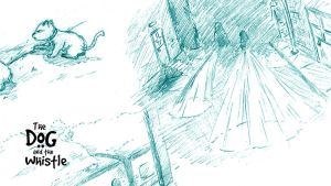 Sketches Set 2 (The Dog and the Whistle) by amitjakhu