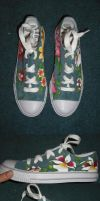 Orchids Custom Shoes by madeleinedemontreal