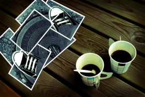 Converse Collage: Coffee Break by creativevolition