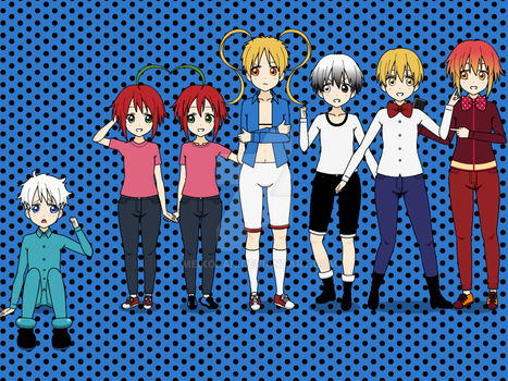 Human Male Characters from Inanimate Insanity 2! by Meikofan