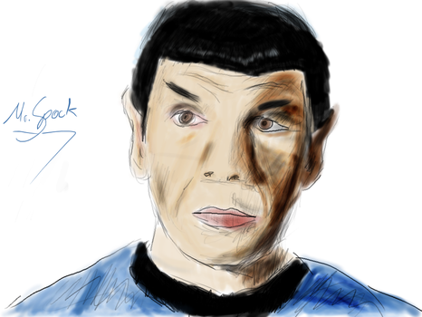Mr. Spock by LakitaCuvier