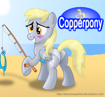 Coppertone Derpy by AleximusPrime