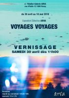 Voyages voyages poster by cybergranny
