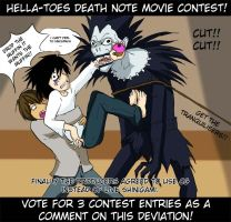 MOVIE CONTEST - VOTE HERE by hella-toes